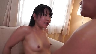 Japanese nipples are rock hard while this girl gets pounded