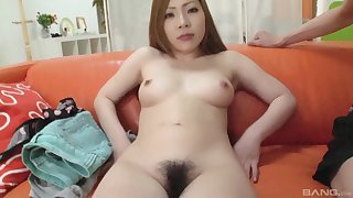 Smoking hot Yuna Uchiyama knows how to suck a big cock properly